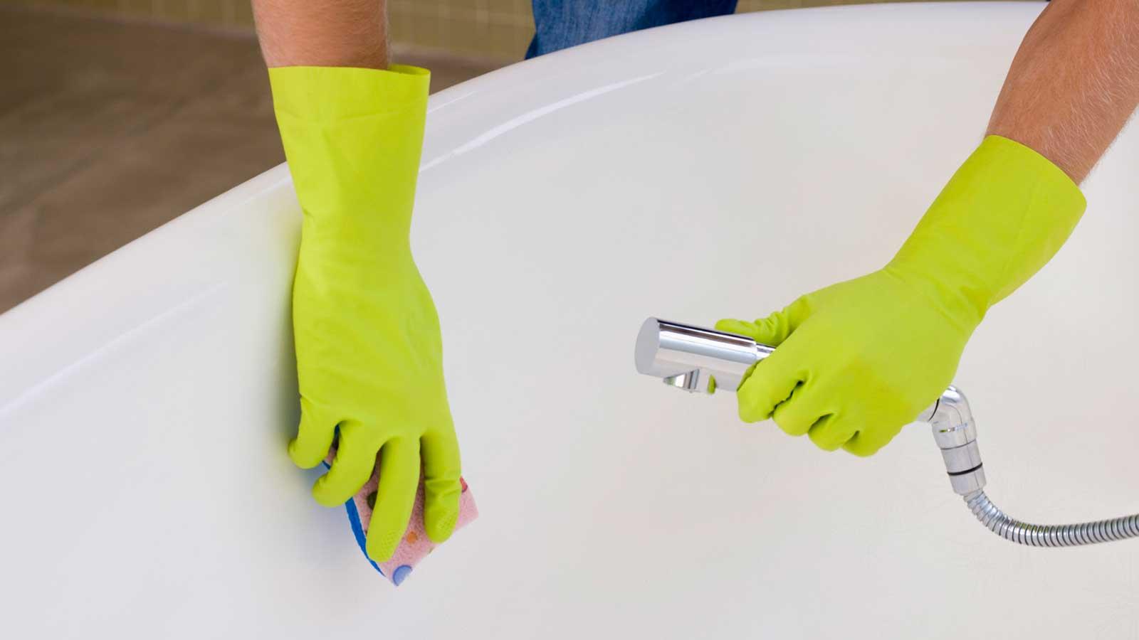 Как сделать ванну белоснежной в домашних условиях