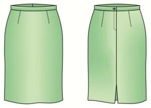 Как сшить юбку своими руками прямую