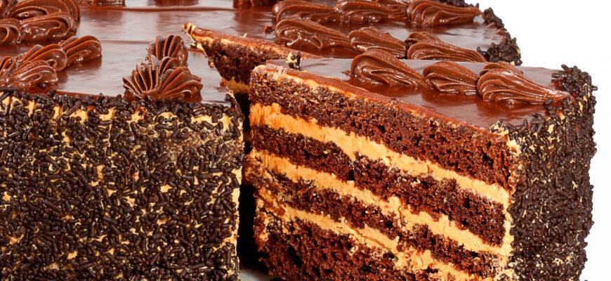 Как сделать праздничный торт