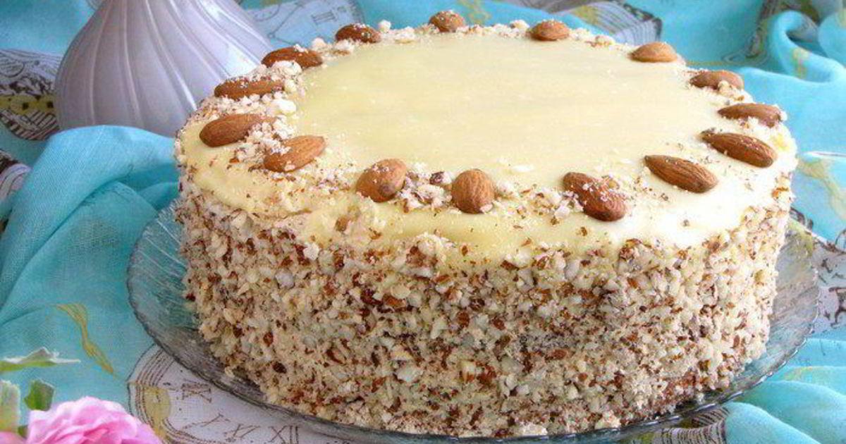 Праздничный торт как приготовить