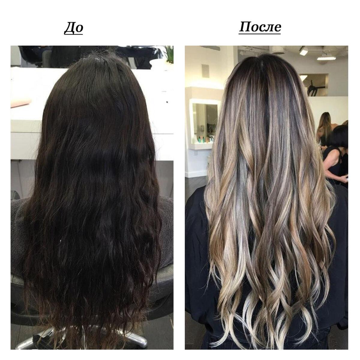 Как можно перекрасить черный цвет волос