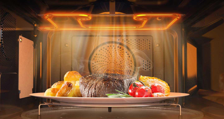 Еда в микроволновке