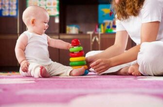 Развивающие игры для ребенка 6 месяцев