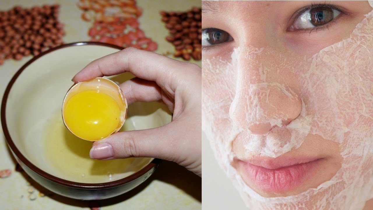 Яичная маска для кожи лица