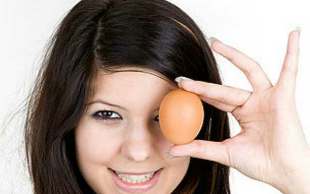 Как делается маска для лица из яиц