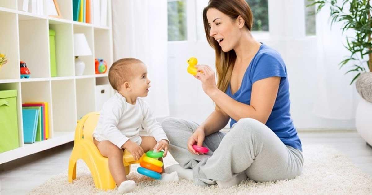 Как приучить маленького ребенка к горшку