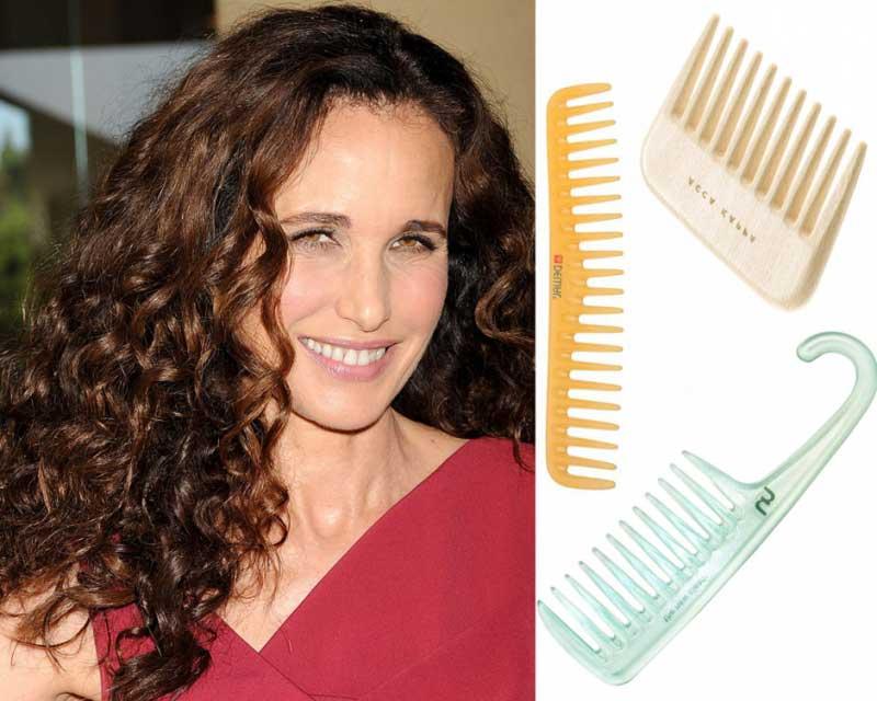 Как расчесать кудрявые волосы