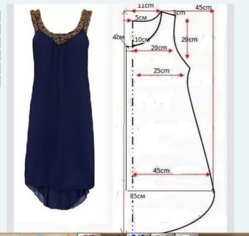 Просты платья как шить