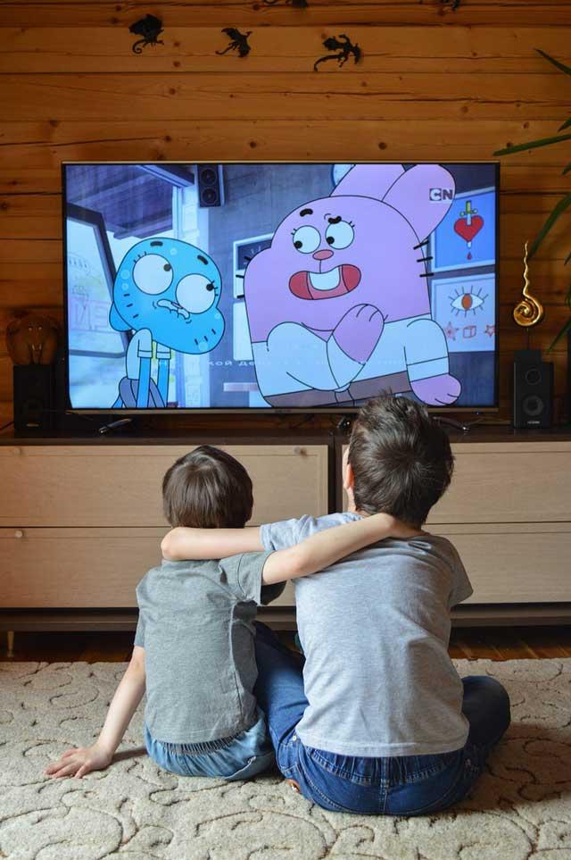 Как мультфильмы влияют на социализацию детей