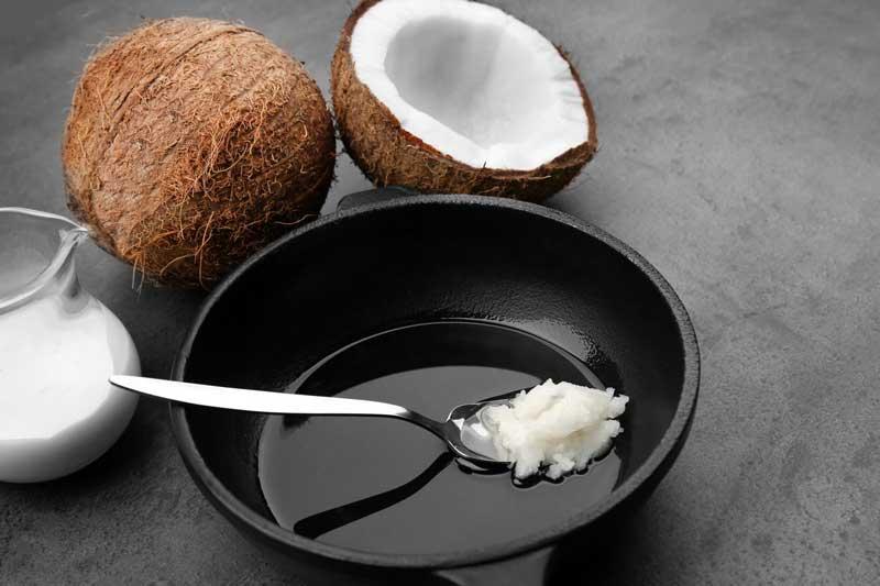 Использование кокосового масла на кухне