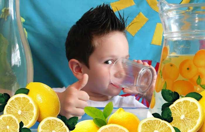 Лимонад польза или вред для детей