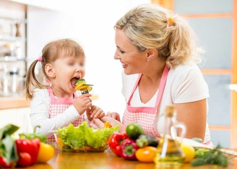 Здоровая диета для ребёнка