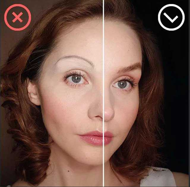 Ошибка макияжа