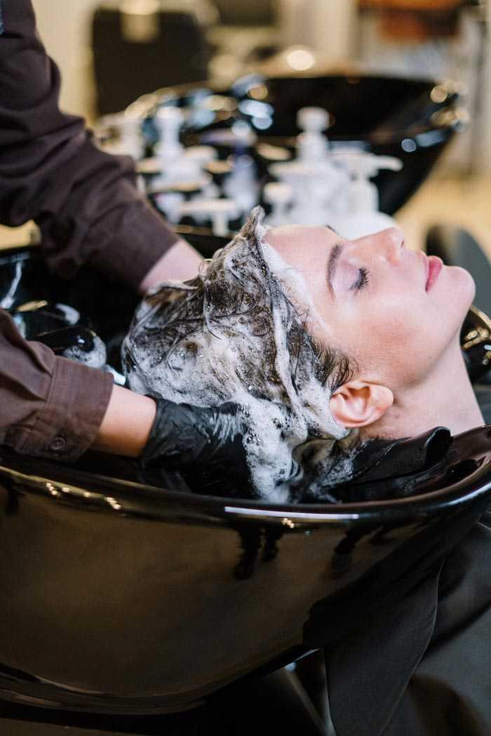 Мытьё густых волос
