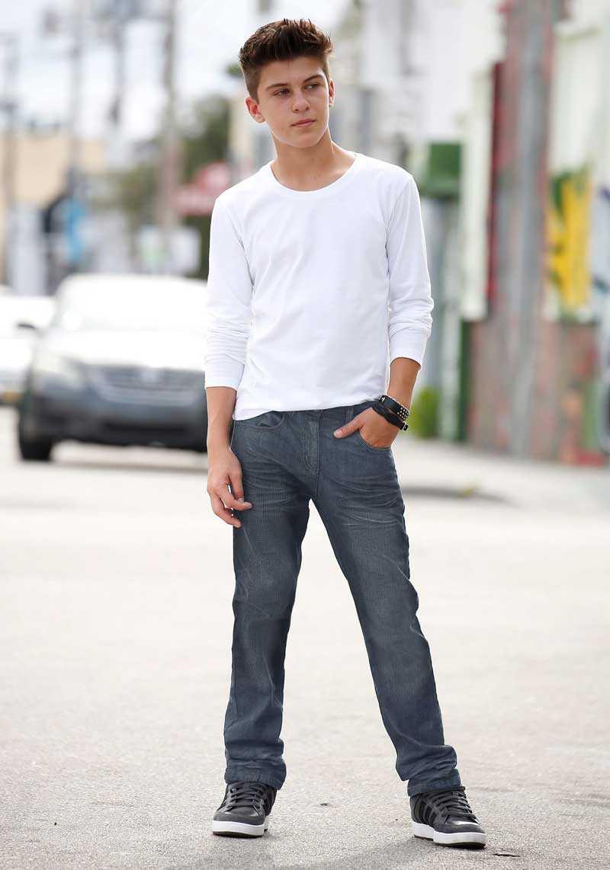 Модная одежда для парней-подростков: 13 вариантов (20 фото)