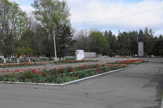 Парковая зона станицы Архангельской