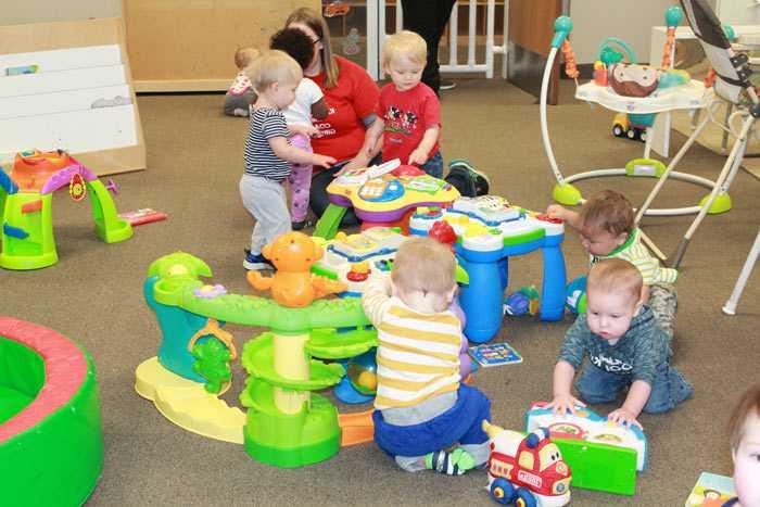 Подготовка малыша к детскому саду в яслях