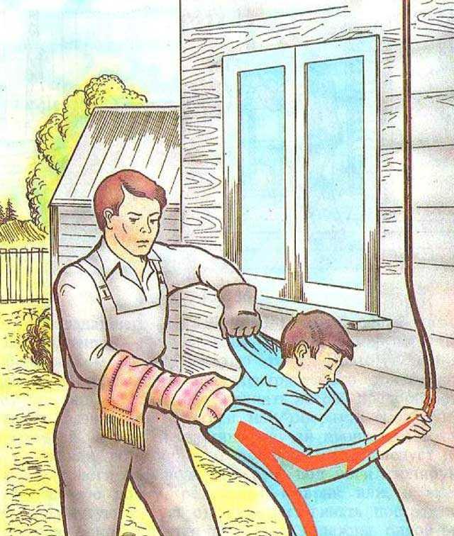 Основы оказания первой помощи ребёнку при бытовых травмах