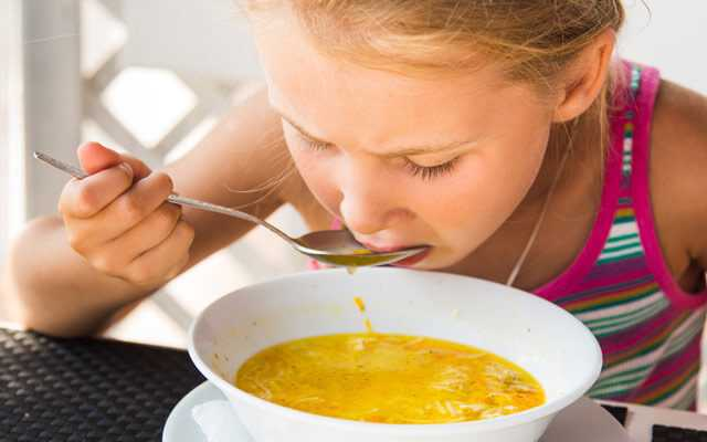 Первые блюда детям польза или вред